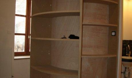 Réhabilitation intérieur contemporain à Clermont-Ferrand